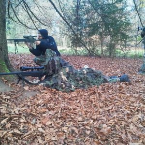 Sniper training day. Knowing your rifle is important! Practice regularly!