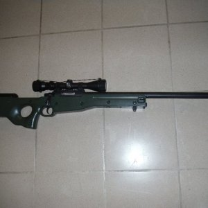 AGM L96    Bone stock, currently non-working.