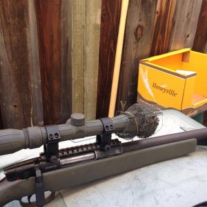 UTG m324   A couple of DIY mods and paint job