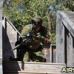 Rifles and Sidearm