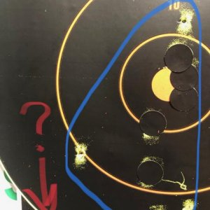 Second grouping 150ft. Skeee.