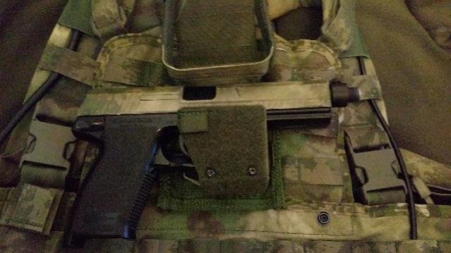 The Solution to TM MK23 Holster Issues? - Airsoft Sniper Forum